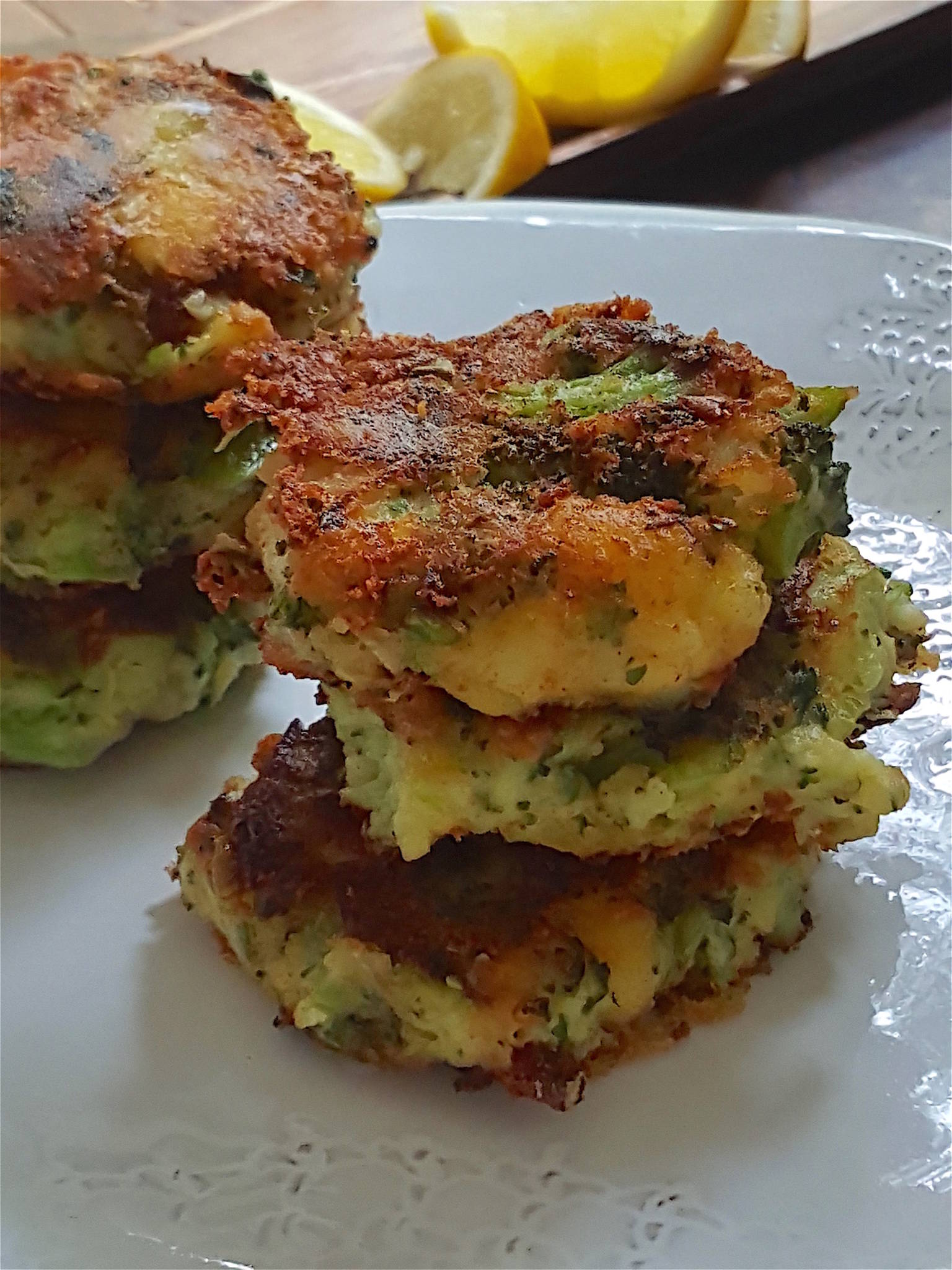 Crispy Broccoli & Potato Stacks 1