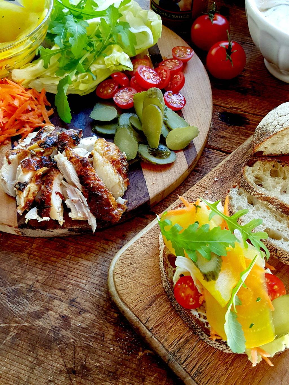 Winter Chicken Sandwich 3