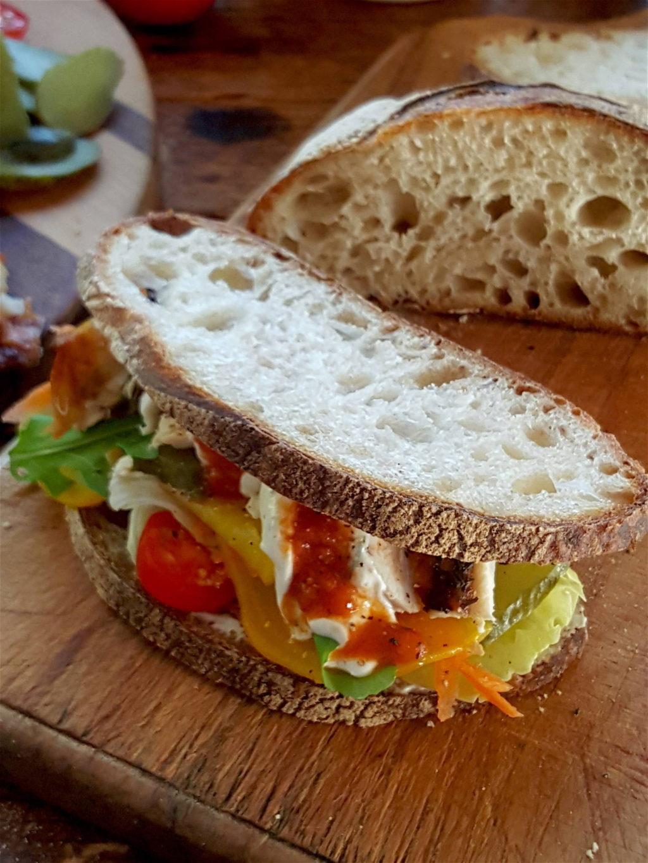 Winter Chicken Sandwich 4