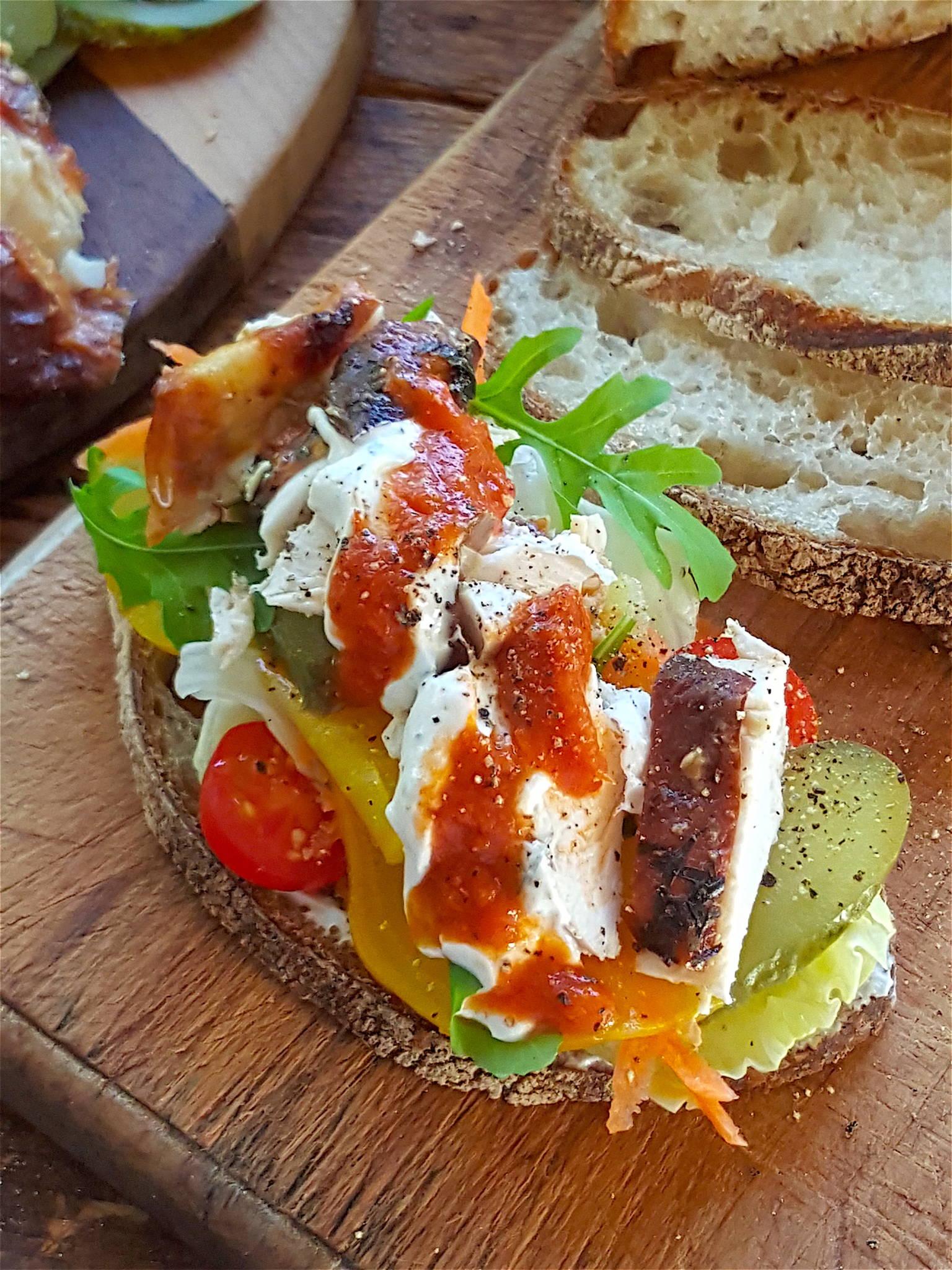 Winter Chicken Sandwich 5