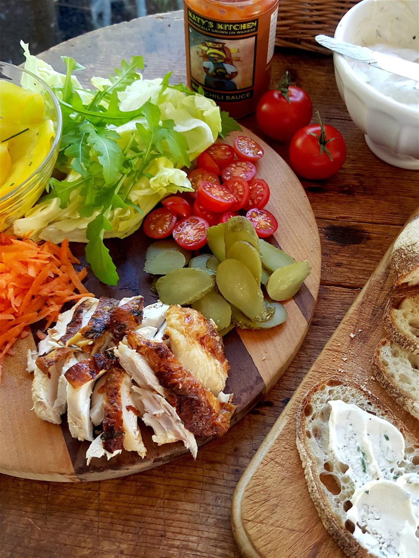 Winter Chicken Sandwich 6