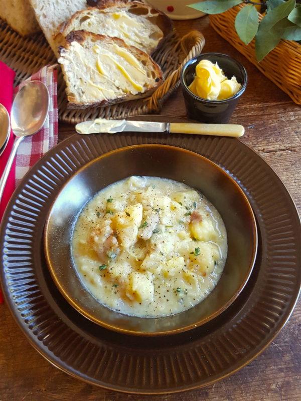 Celeriac & Potato Soup 1