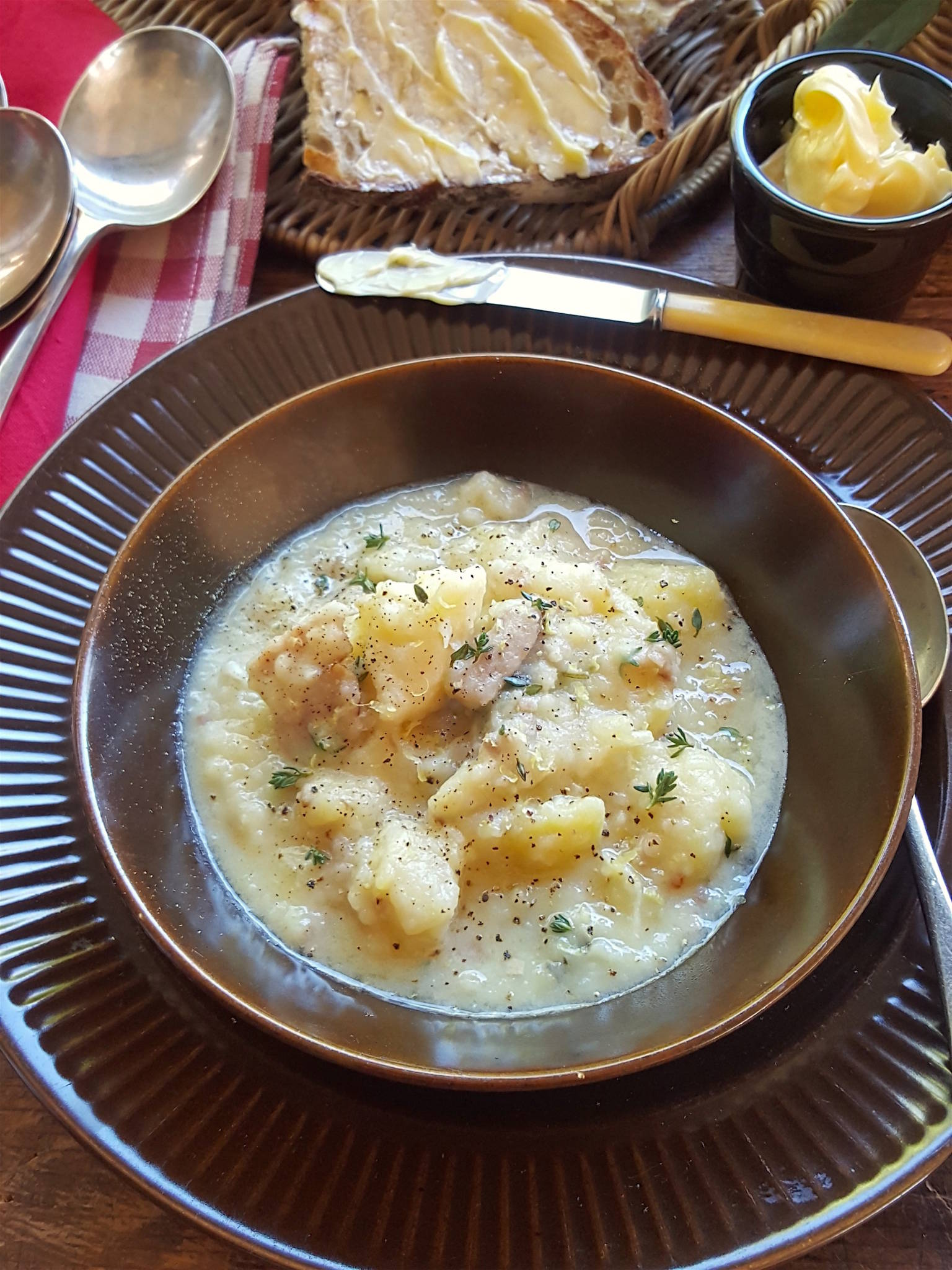 Celeriac & Potato Soup