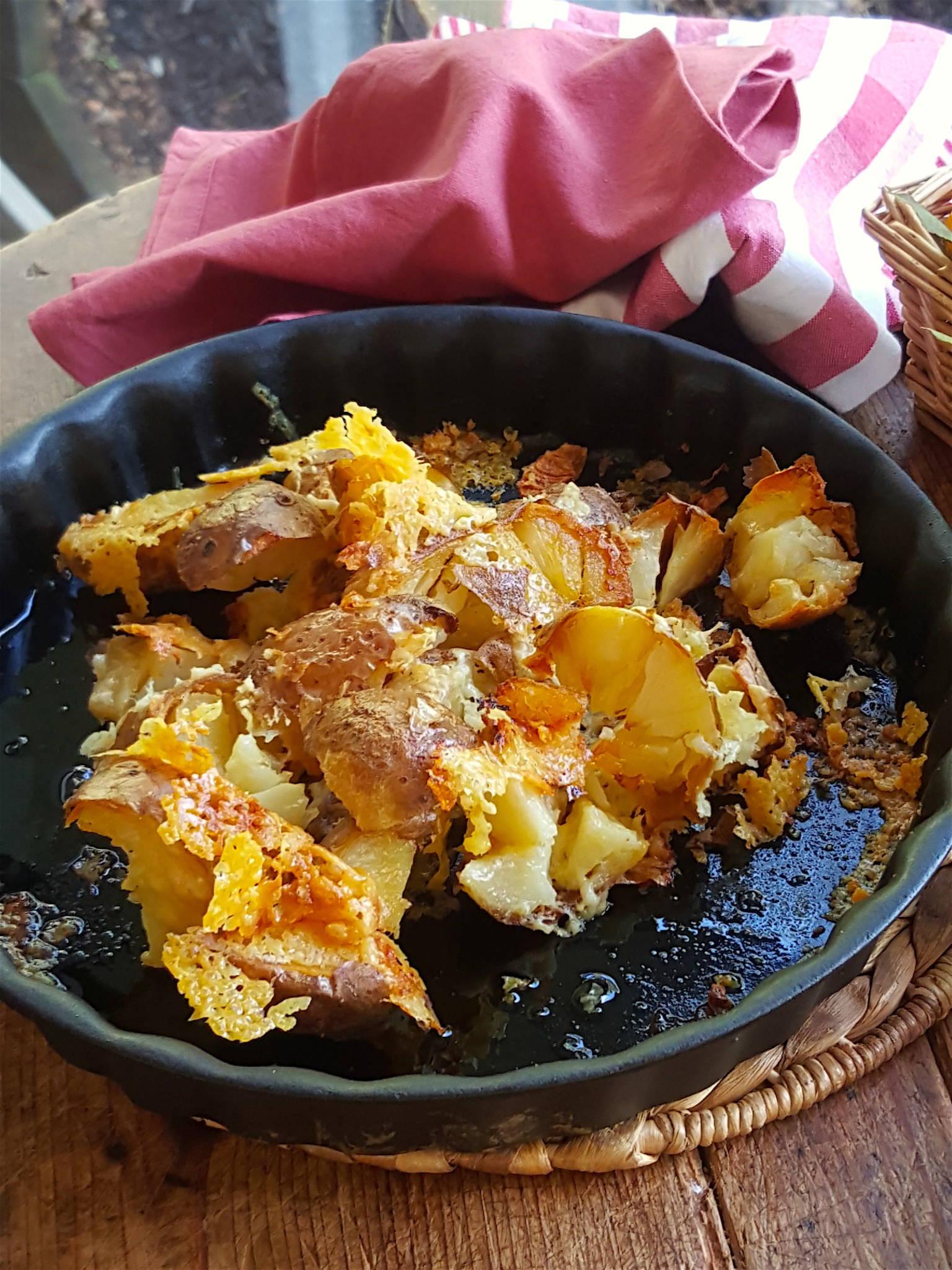 Crunchy Potato Skins 1