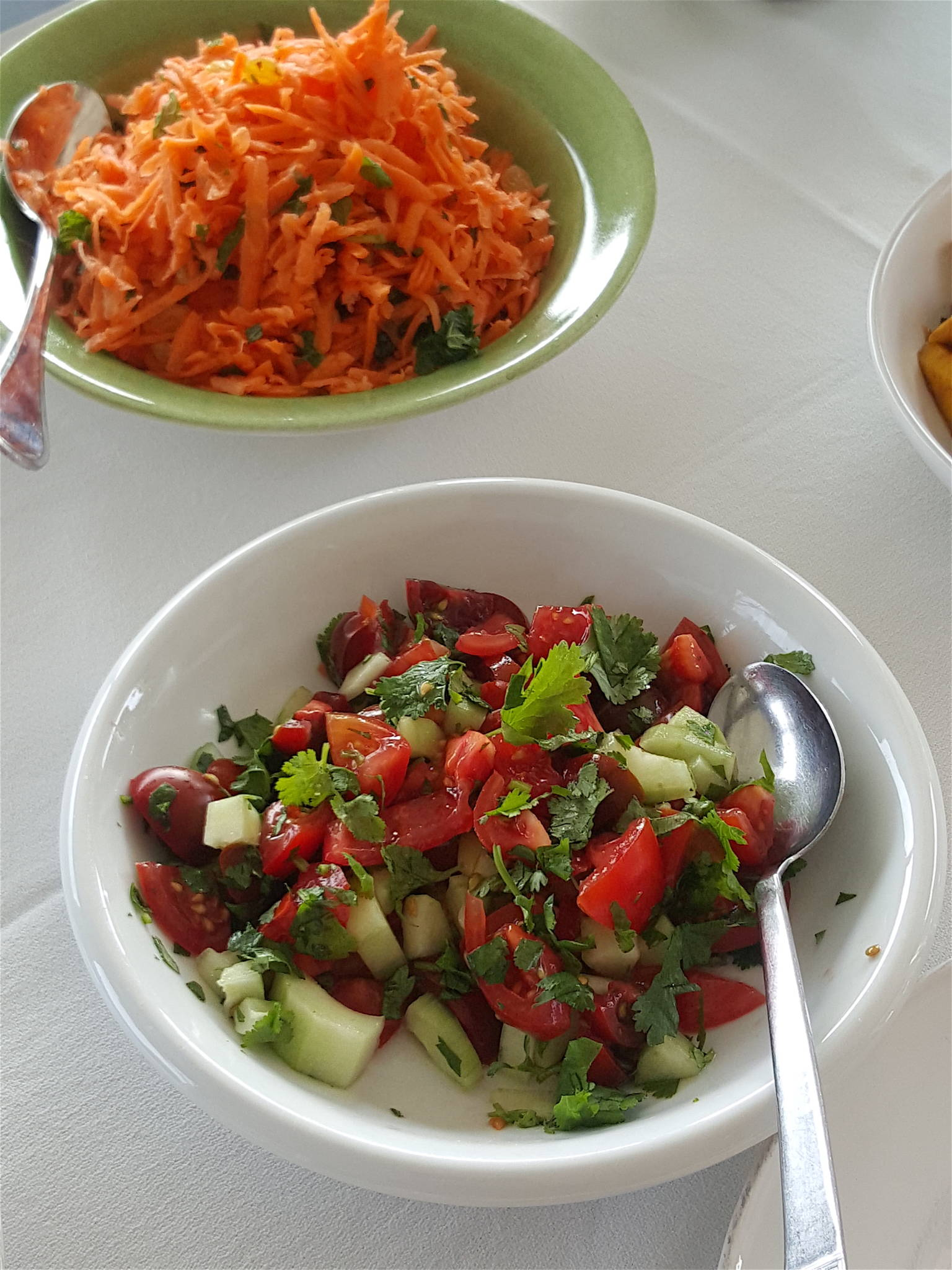 Gingered Carrot Salad