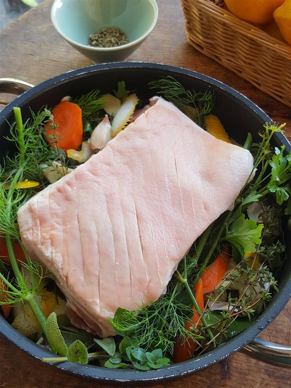 Pork Belly with Cider 1