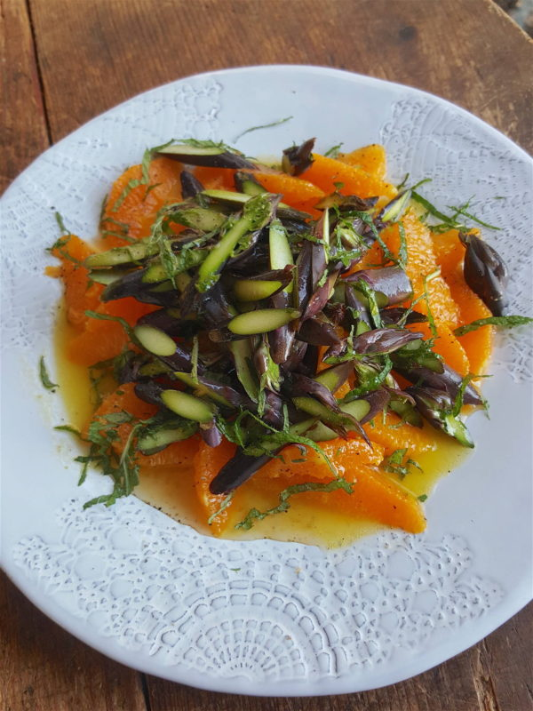 Asparagus & Orange Salad 1