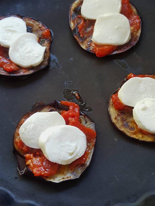 Eggplant & Mozzarella Stacks 1