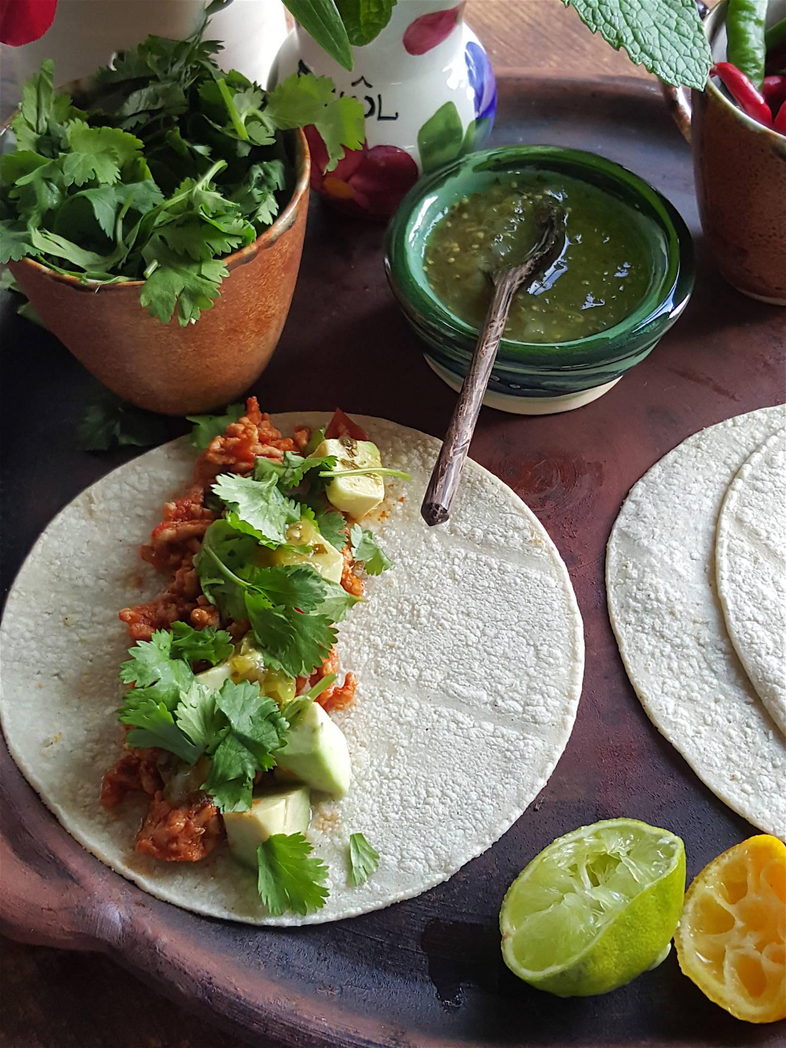Tortillas with Pork
