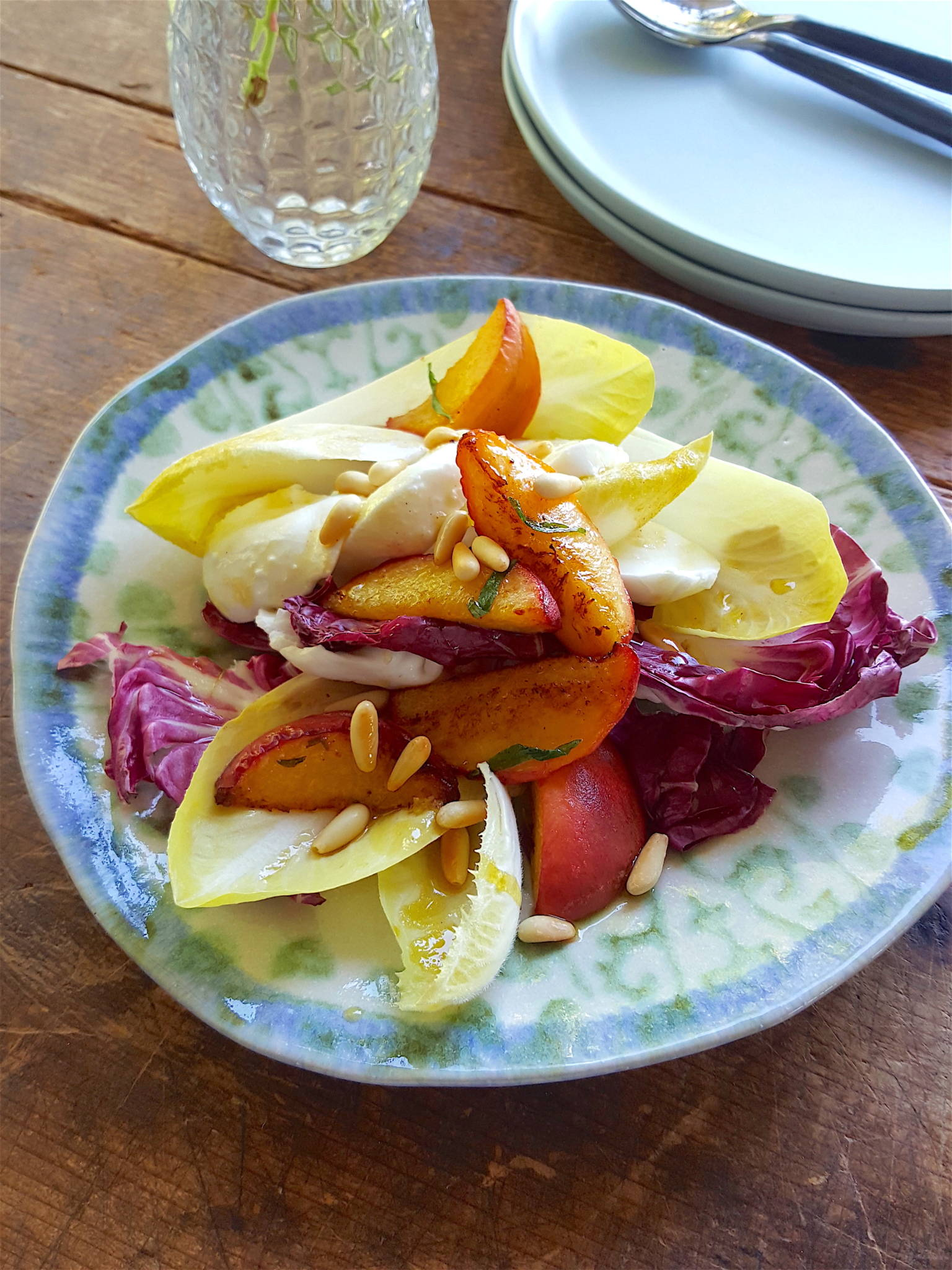 Peach & Mozzarella Salad 1