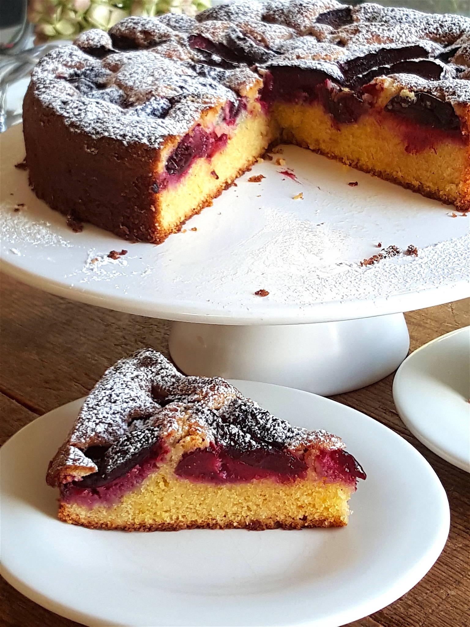 Plum & Almond Cake 4