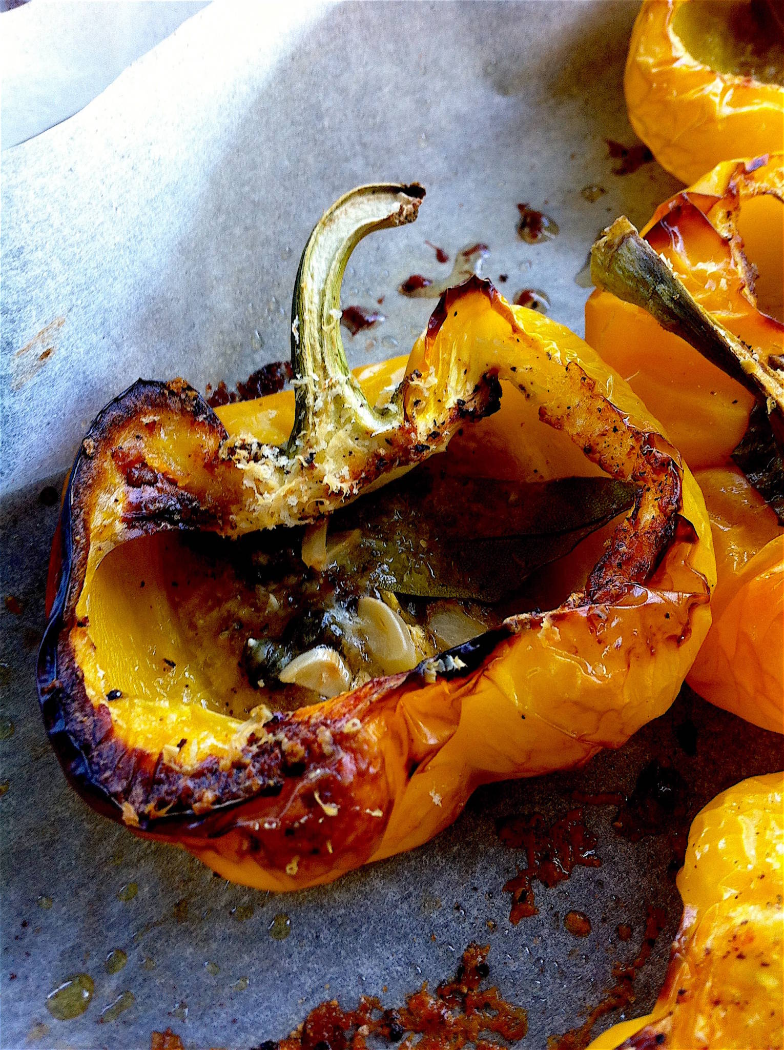 Roasted Yellow Peppers 1