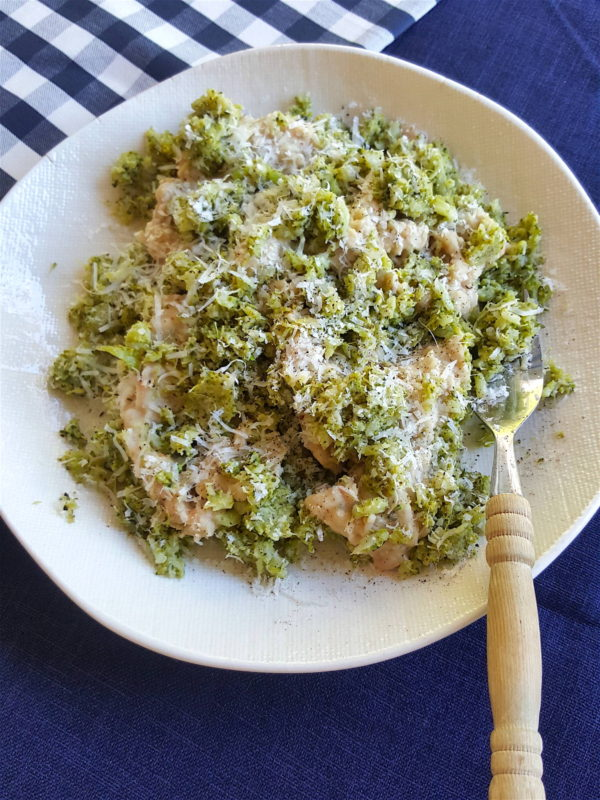 Broccoli & Cannellini Bean Purée