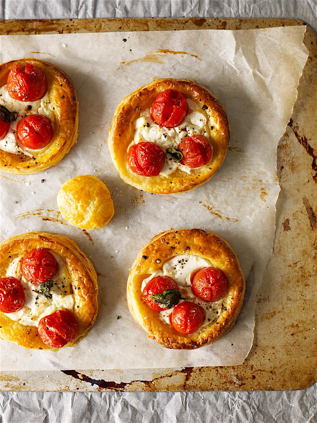 Tomato & Goat's Cheese Tarts