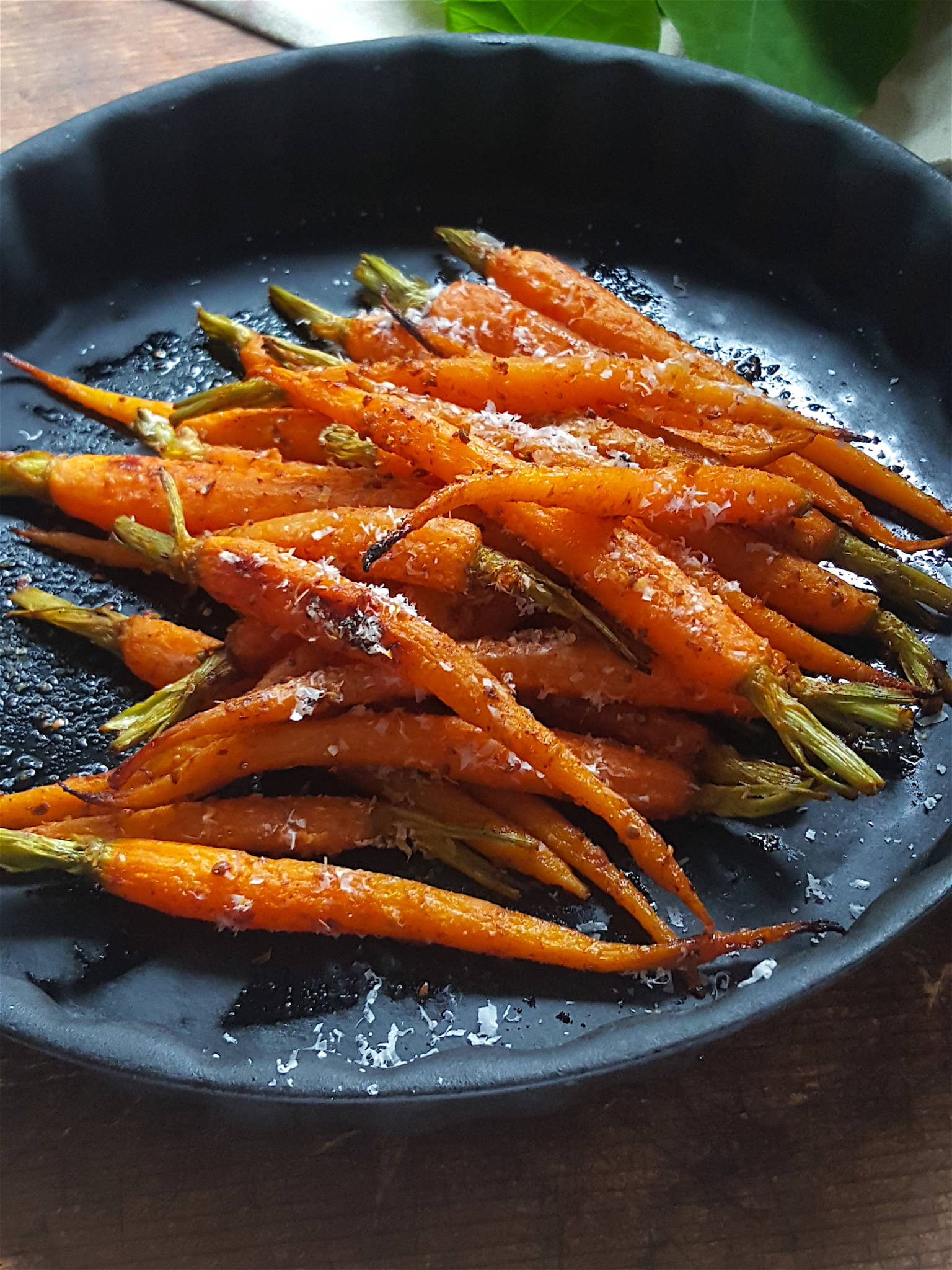 Roasted Carrots with Smoked Paprika