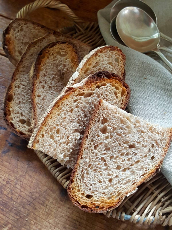 Country style sour dough bread