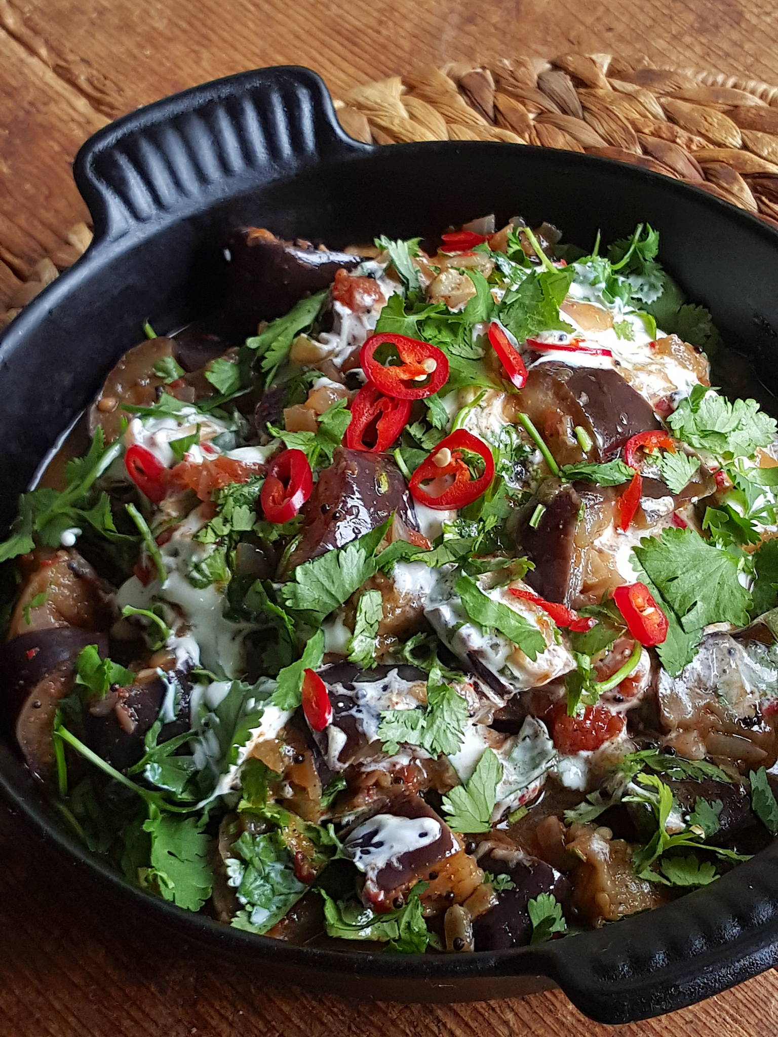 Eggplant with Spices