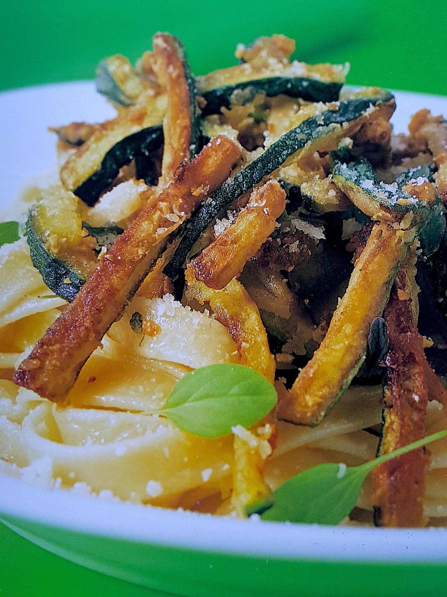 Fettuccine with Zucchini
