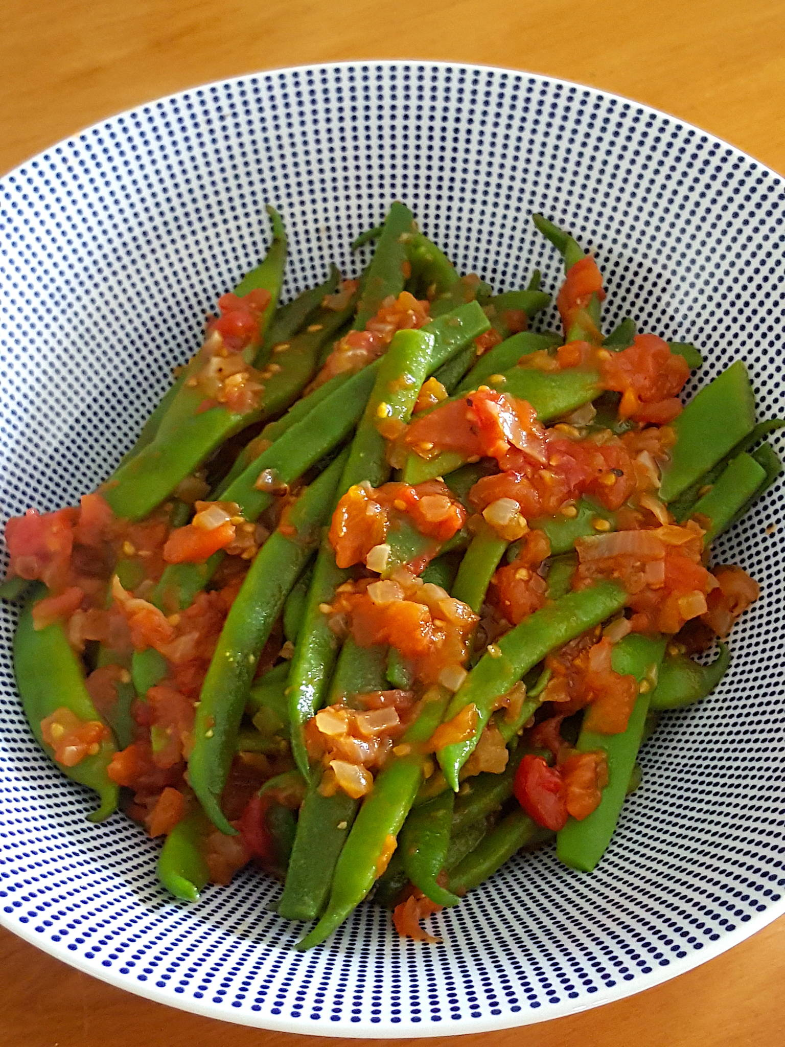 Green Beans with Tomato