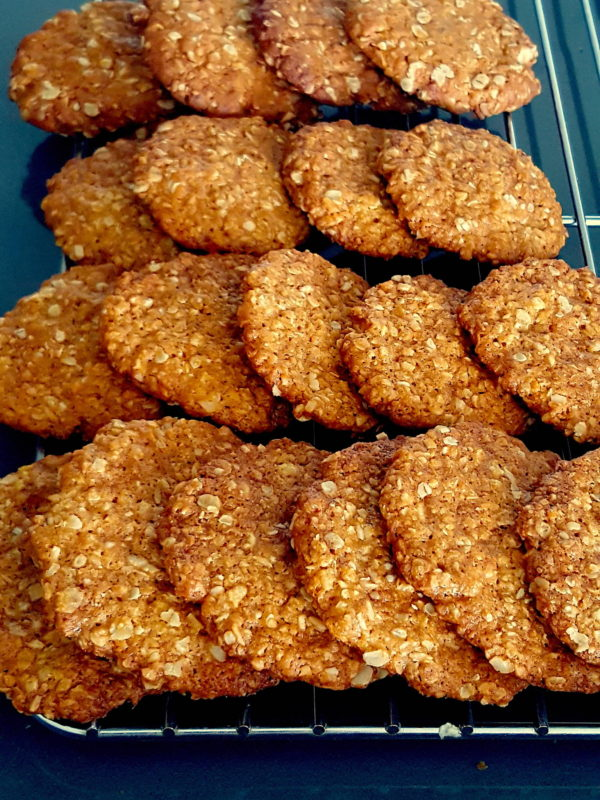 Anzac Biscuits - coconutty treats!
