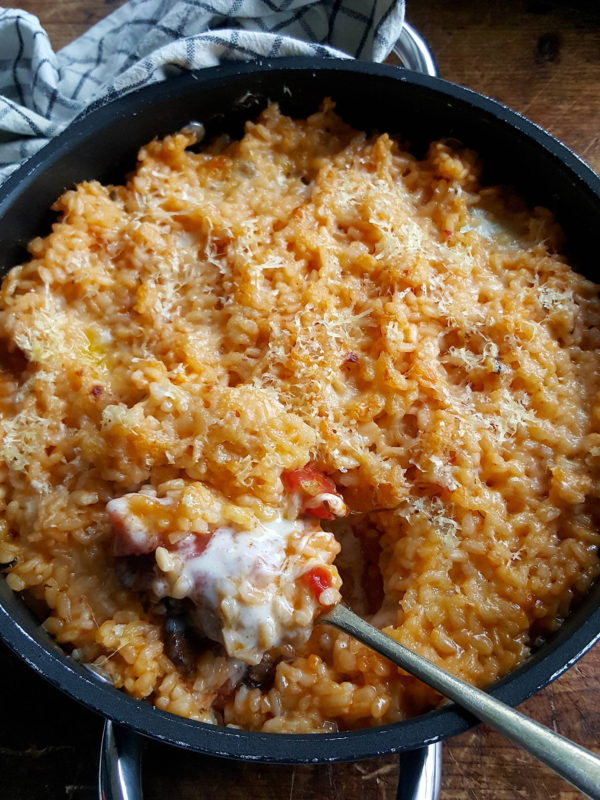 Best-ever Baked Risotto