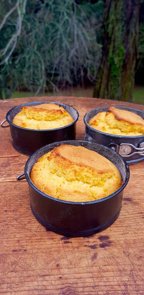 Golden 'n fluffy cornbread