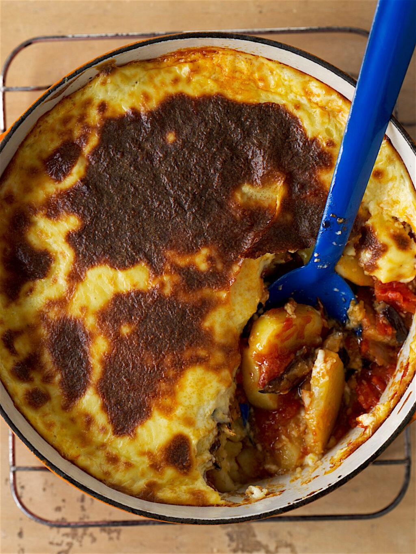 Meatless moussaka!