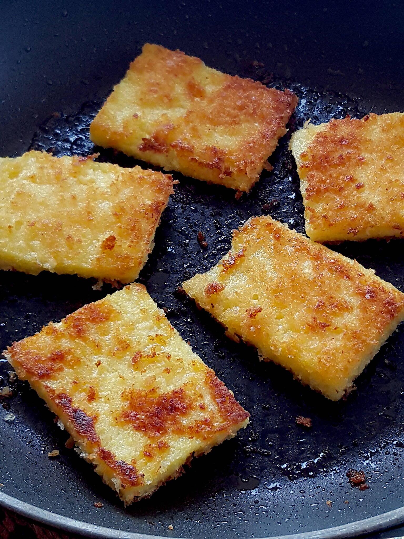 Crispy Fried Polenta
