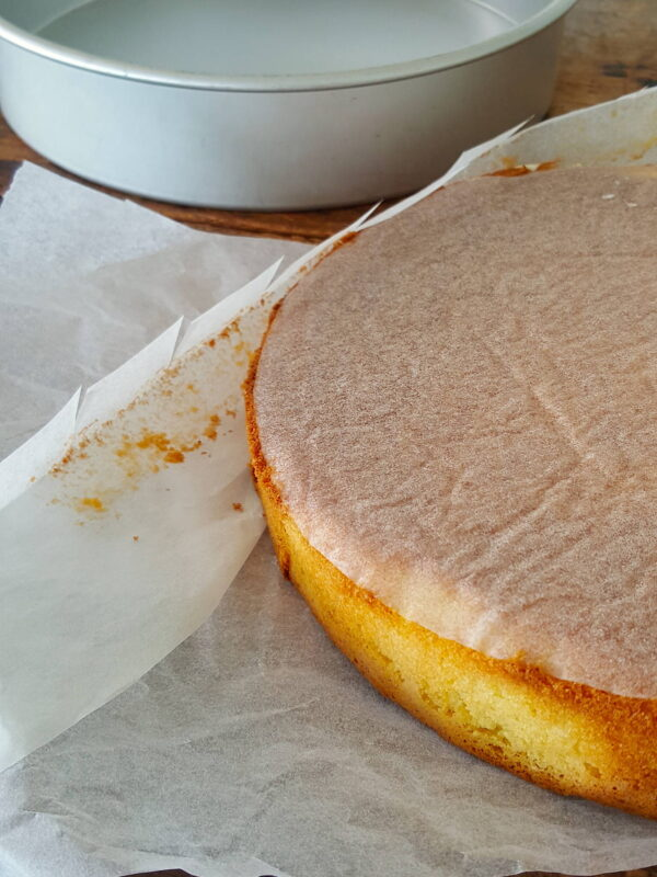 Learn how to line a cake tin with baking paper