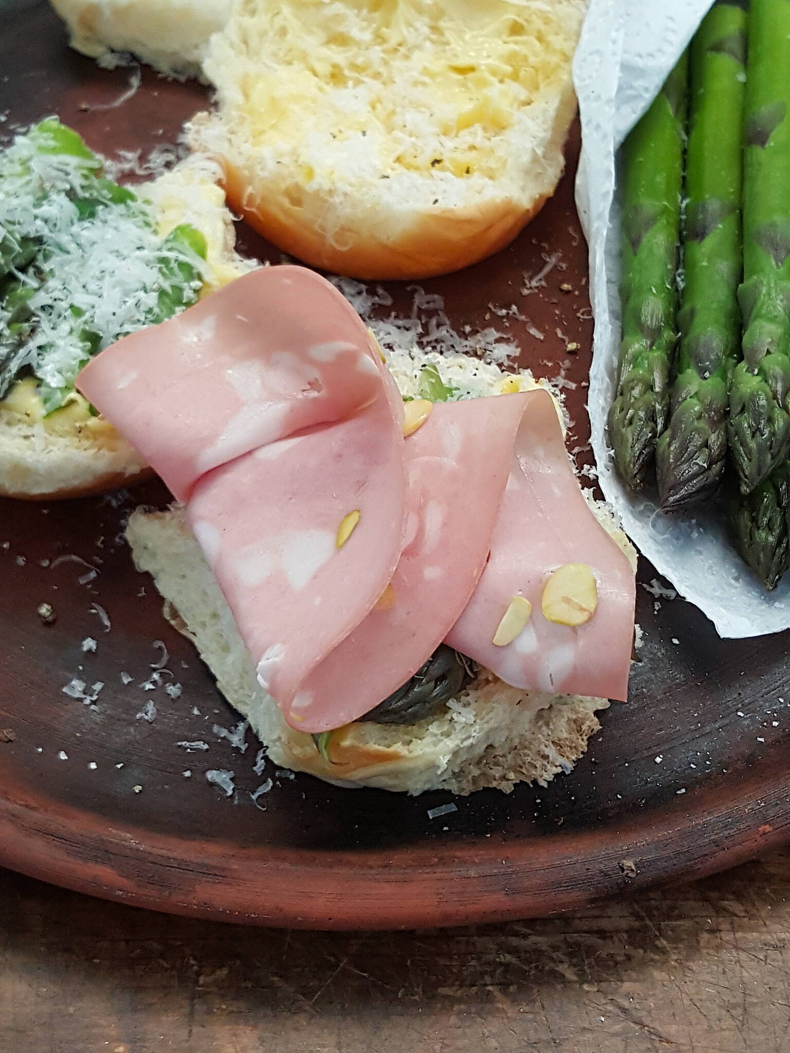 Asparagus Rolls– but not as you know them Gladys!
