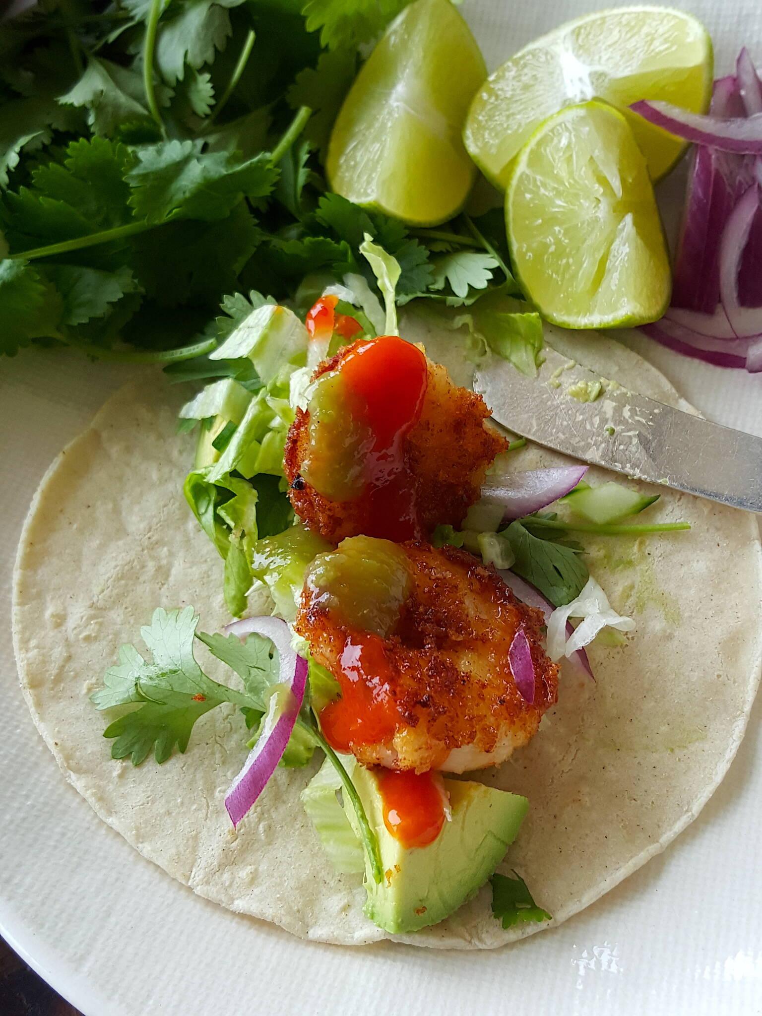 OMG Prawn Tacos