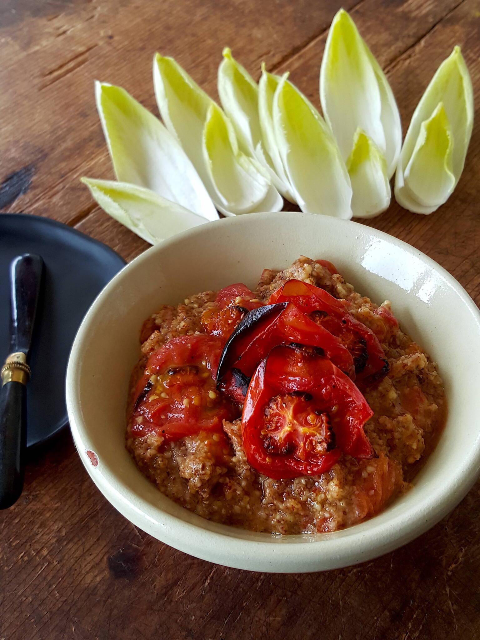 Roasted Almond & Tomato Pesto