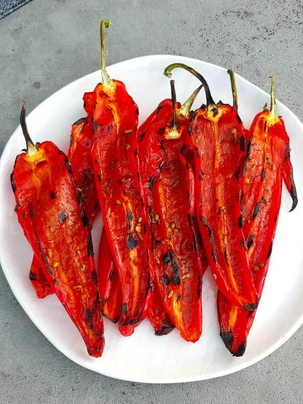 Gorgeous! Grilled Peppers.