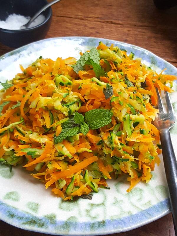 Zucchini & Carrot Toss
