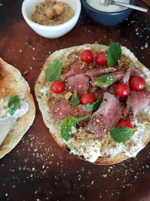 Baba Ghanoush with Lamb