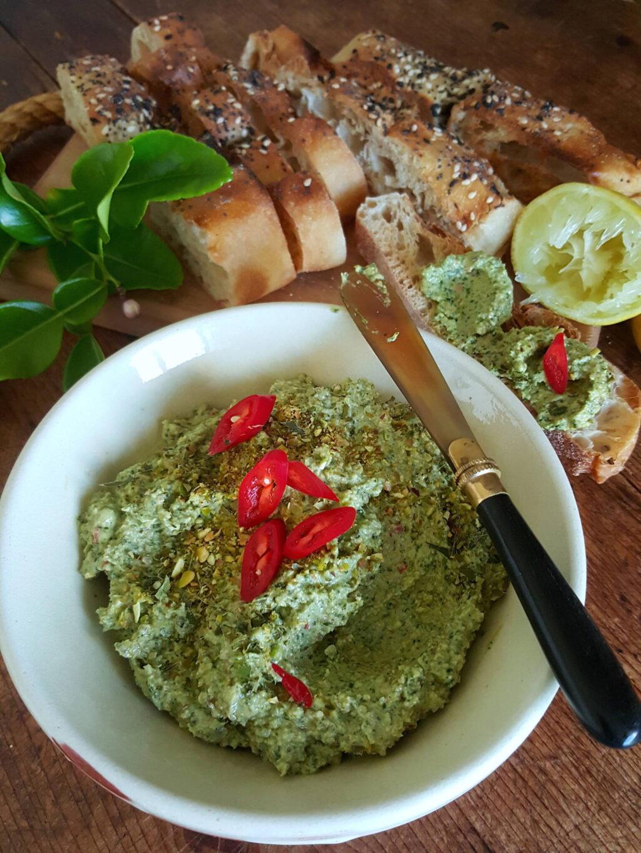 Pistachio Lime Dip is seductive!