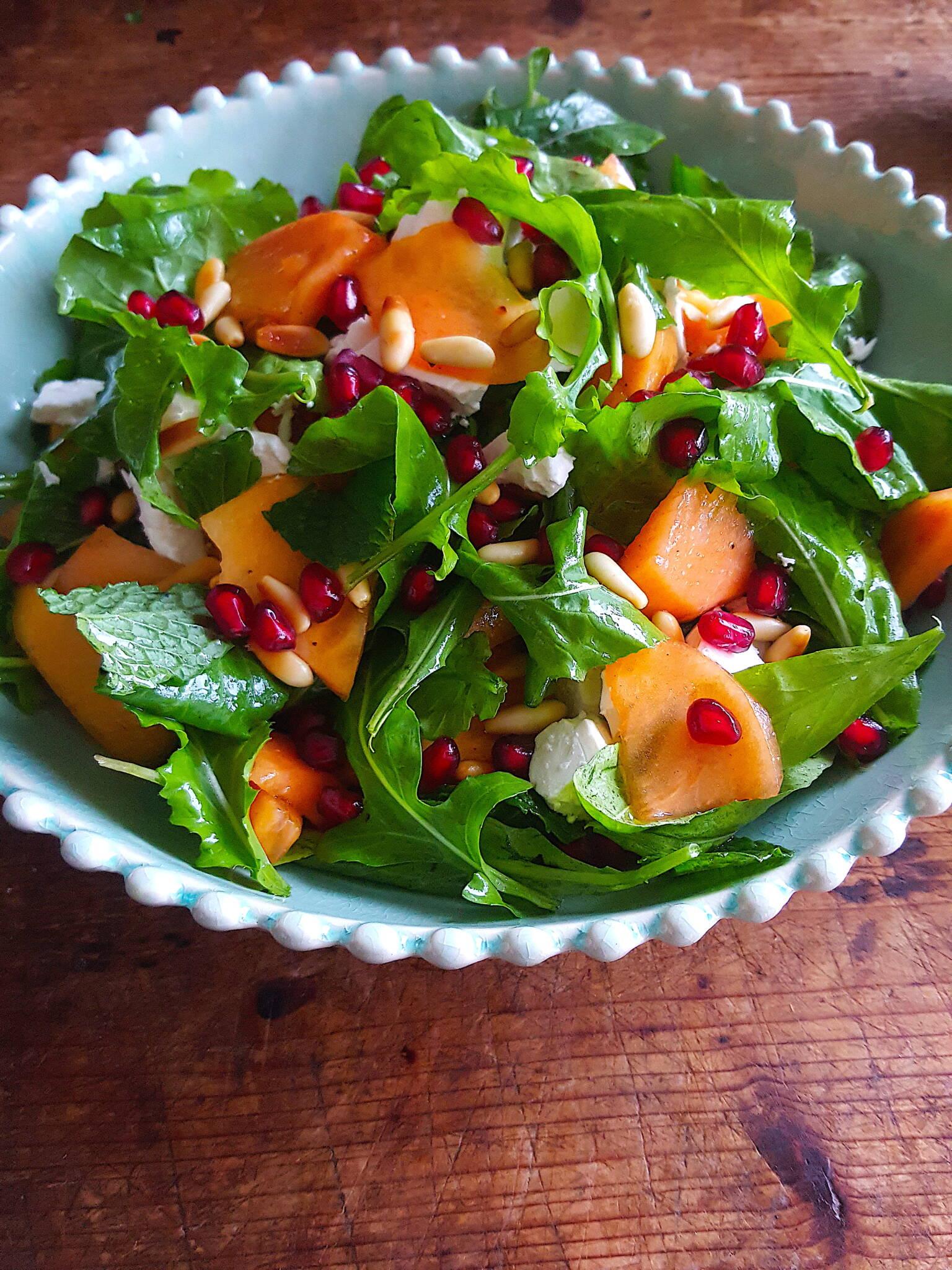 Rocket & Persimmon Salad