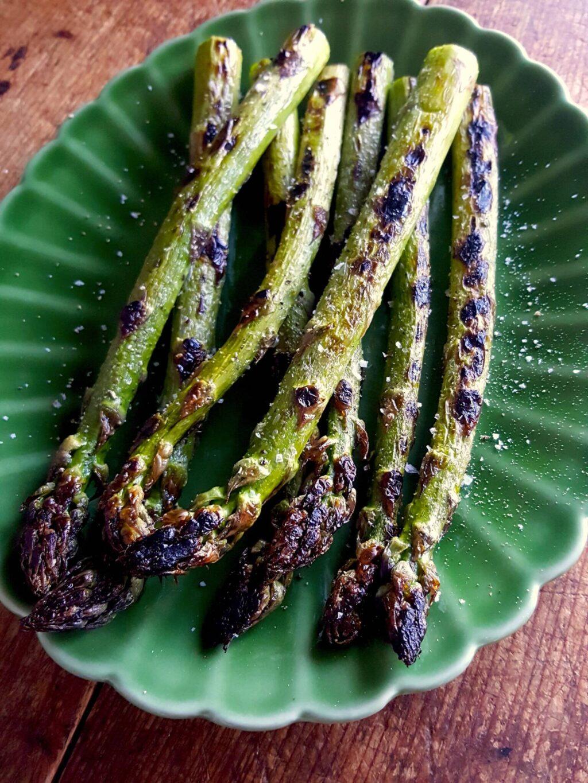 Char-grilled Asparagus