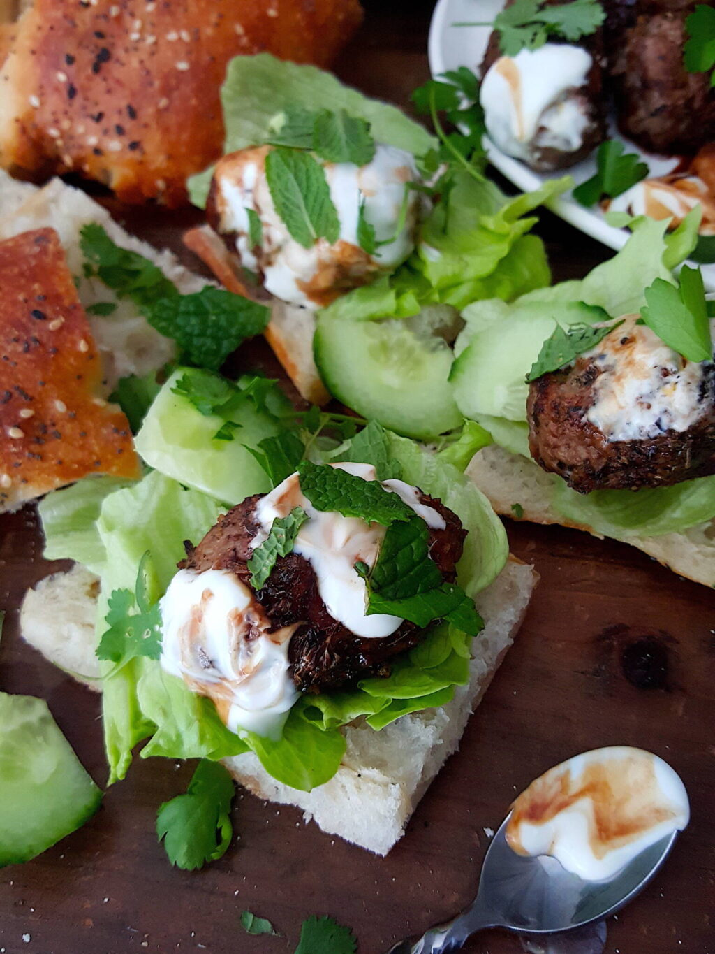 Lamb Meatballs with Spicy Rub